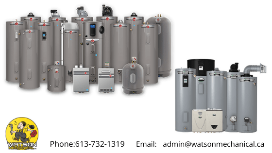 Natural Gas Water Heater Services in Pembroke & Petawawa